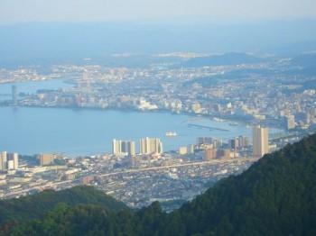 大津市内の眺望