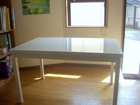 料理教室に使うテーブルの作成