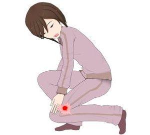 正座やしゃがむ時、膝の裏にものが挟まったような違和感や圧迫感がある