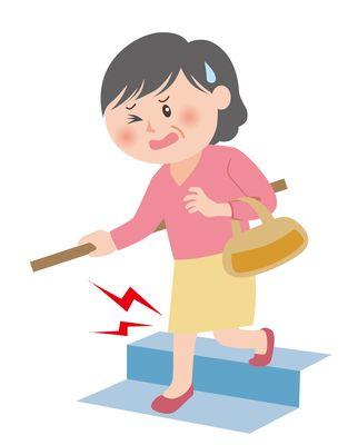 運動不足による筋力の低下